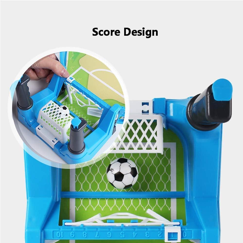 MJ-Games Mesa de Futbol para niños/Plegable, Deluxe Mini, Fútbol ...