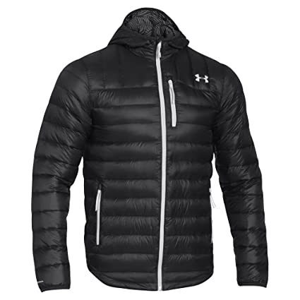 48e17ca2a Image Unavailable. Image not available for. Color: Under Armour Men's UA  Storm ColdGear Infrared Turing Hooded Jacket ...