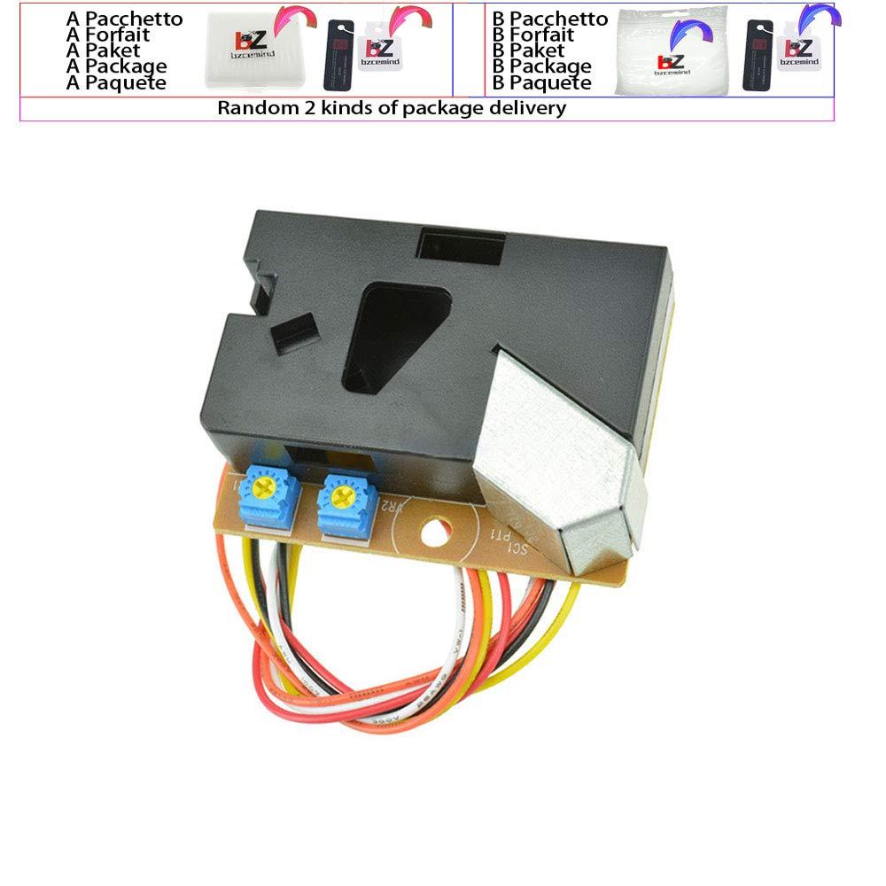 DSM501A Module d/étecteur de poussi/ère PM2.5 D/étecteur de Particules de fum/ée Allergique pour Arduino pour climatisation