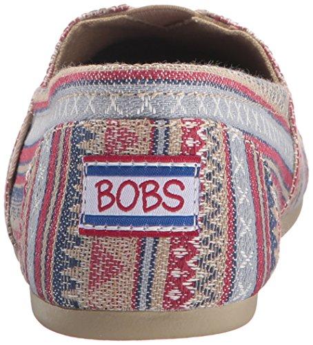 Bobs Från Skechers Kvinna Plysch Mode Slip-on Plant Aztec Tan