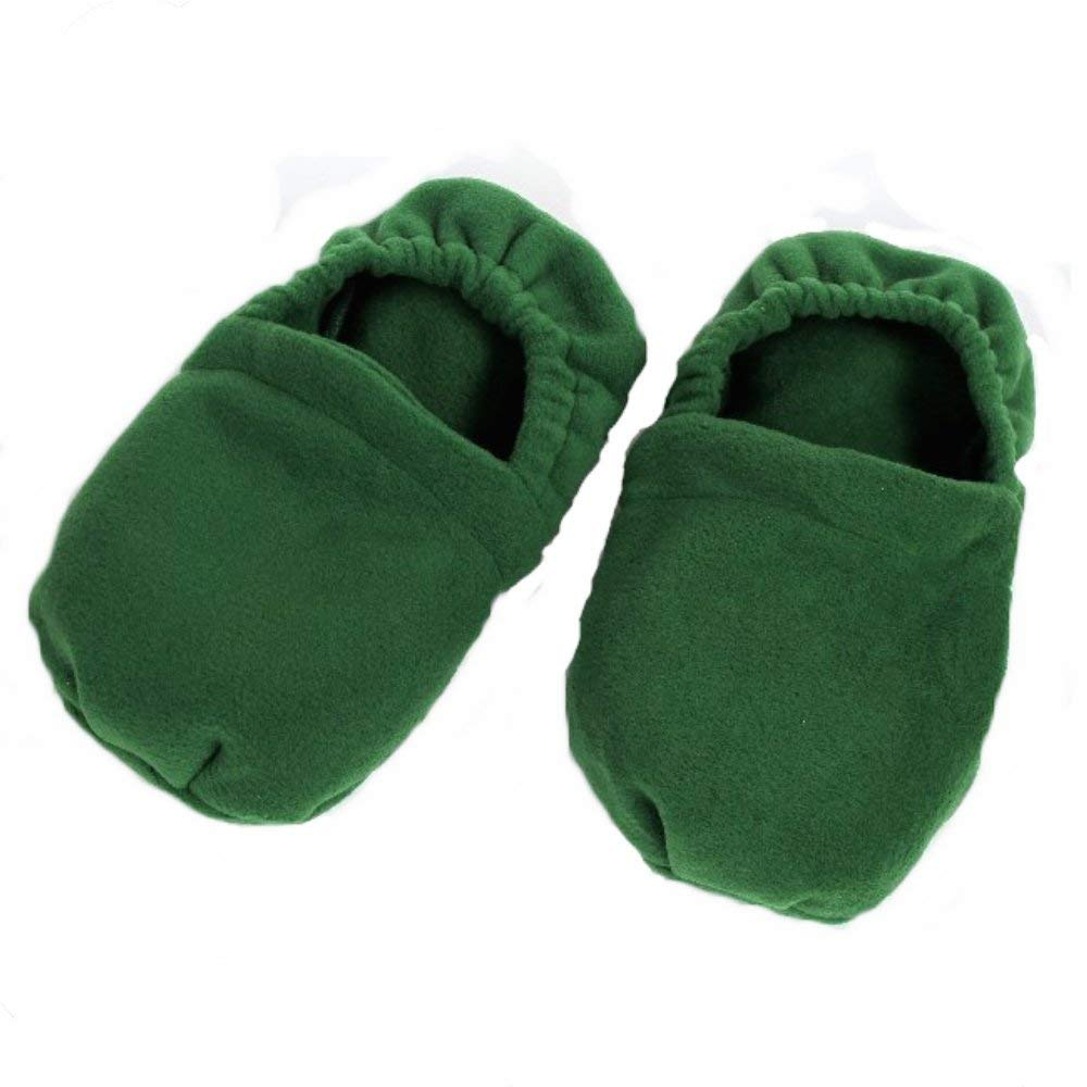 Erboristeria Vita Green Cherry Stone Heating Slippers Foot Warmer Foot Massage – Produced in Emilia Romagna