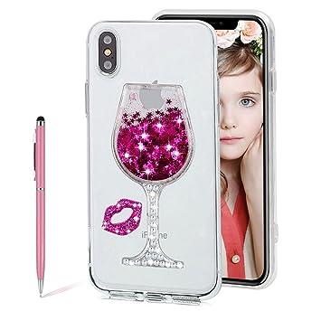 coque verre de vin iphone xr