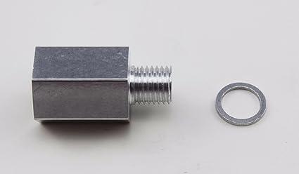 LSX Innovations LS Coolant Temp Sensor Adapter M12 X 1/2 NPT Temperature  Sensor Adapter