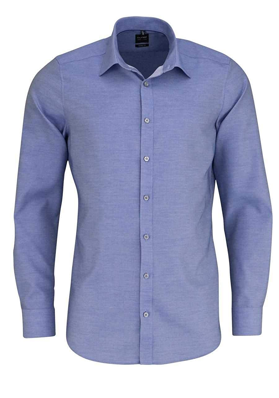 TALLA 46. Olymp - Camisa Formal - Liso - Cuello Kent - para Hombre