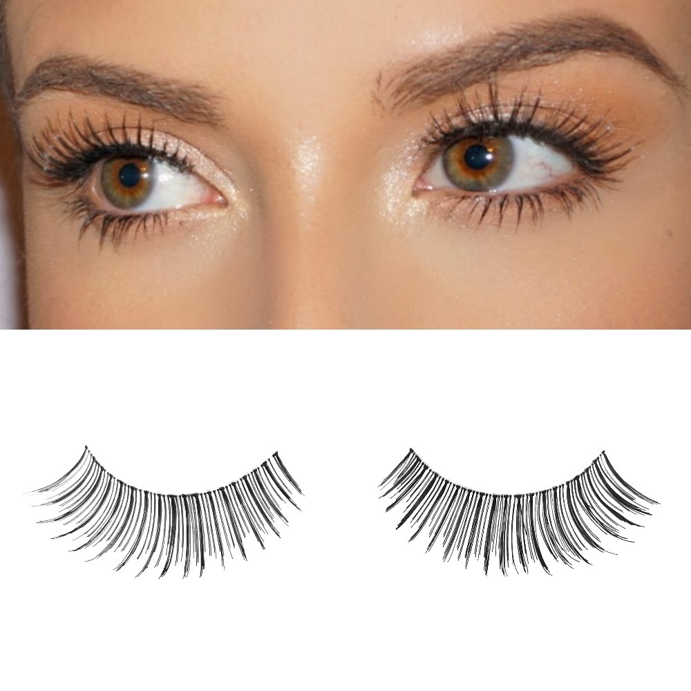 8b4627aa2c5 Amazon.com : Milanté BEAUTY Mischievous Vegan False Lashes Black Natural  Thick Long Full Reusable Fake Strip Eyelashes : Beauty