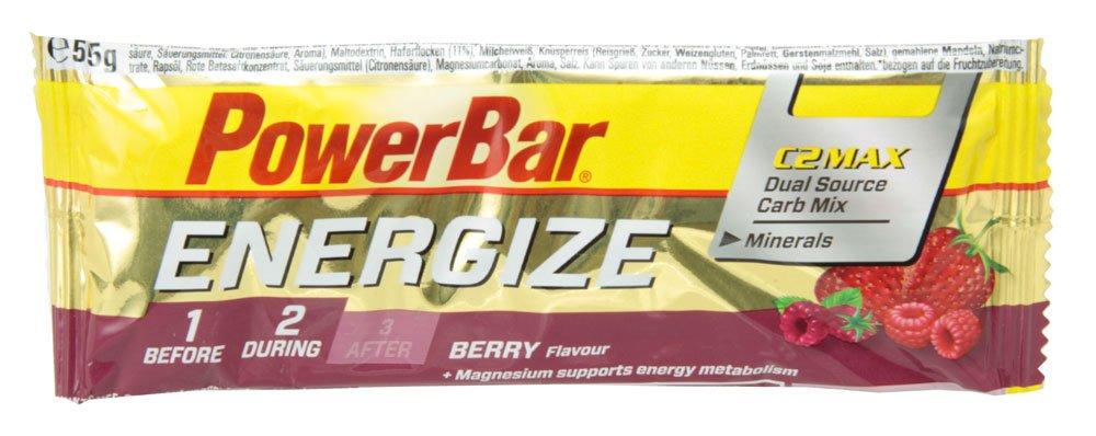 PowerBar Energize Bar ベリーブラスト 25本入り PBE2P B00O2LG1BU