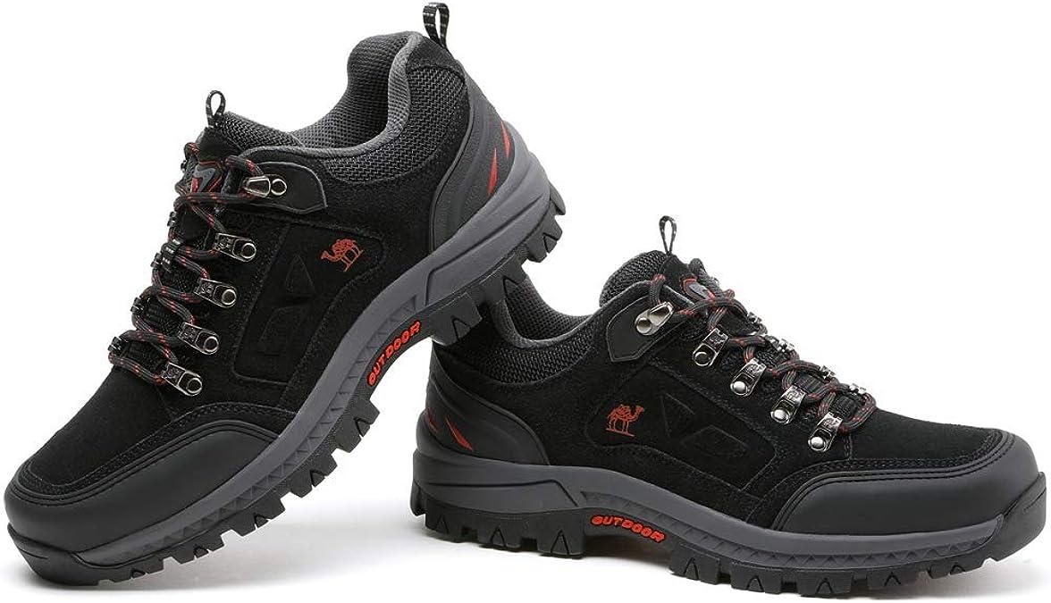 CAMEL CROWN Zapatillas de Senderismo Antideslizantes Zapatillas de Entrenamiento de Viaje Al Aire Libre para Caminar Escalar Trekking