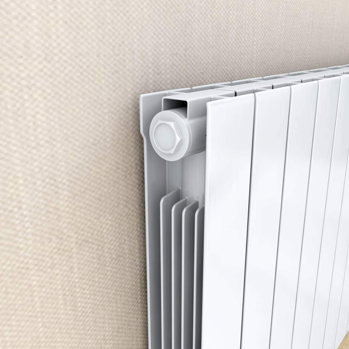 Slimline Fluid Inertia Radiator LCD Display 24//7 Timer 577x461mm Oil Filled Electric Radiator Thermostatic Wall Mounted Heater 900W 5 Heating Modes