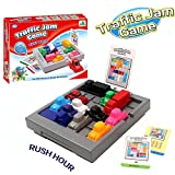 Traffic Jam Game IQ Car 3D Puzzles - YiGooood Challenges Toys Party Family Game Creative Rush Hour Gift Toys For Children