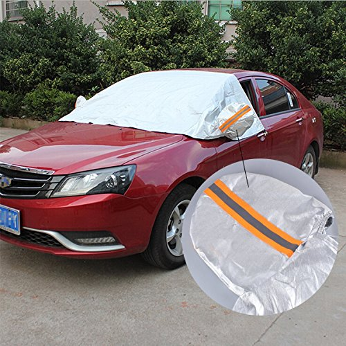 KDL Premium Windshield Sun/Snow Cover Shield Dust Protector Cover Windscreen Sizes for ALL Vehicles
