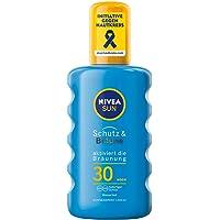 NIVEA Sun zonnespray, beschermingsfactor 30, spuitfles, bescherming en bruining, 200 ml
