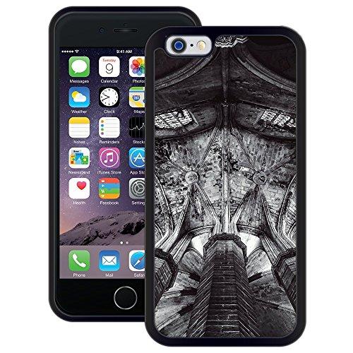 Kirchenbau   Handgefertigt   iPhone 6 6s (4,7')   Schwarze Hülle