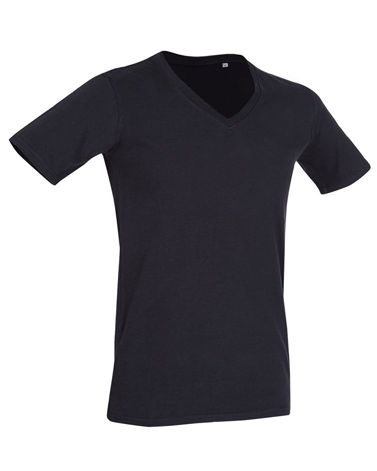 6c28e044194 Amazon.com  Stedman Stars ST9690 Dean Mens Deep V Neck T-Shirt  Clothing