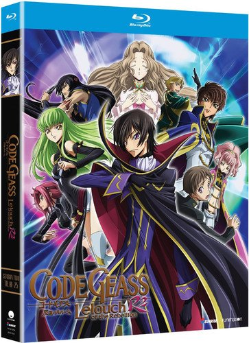 Code Geass: Lelouch of Rebellion R2 - Season Two [Blu-ray]