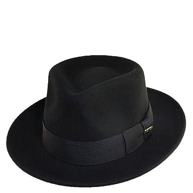 0a6e6e91236 Scala Classico Men s Crushable Wool Felt Fedora at Amazon Men s ...