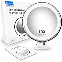 Vansky 10X Magnifying LED Makeup Mirror with lights,LED