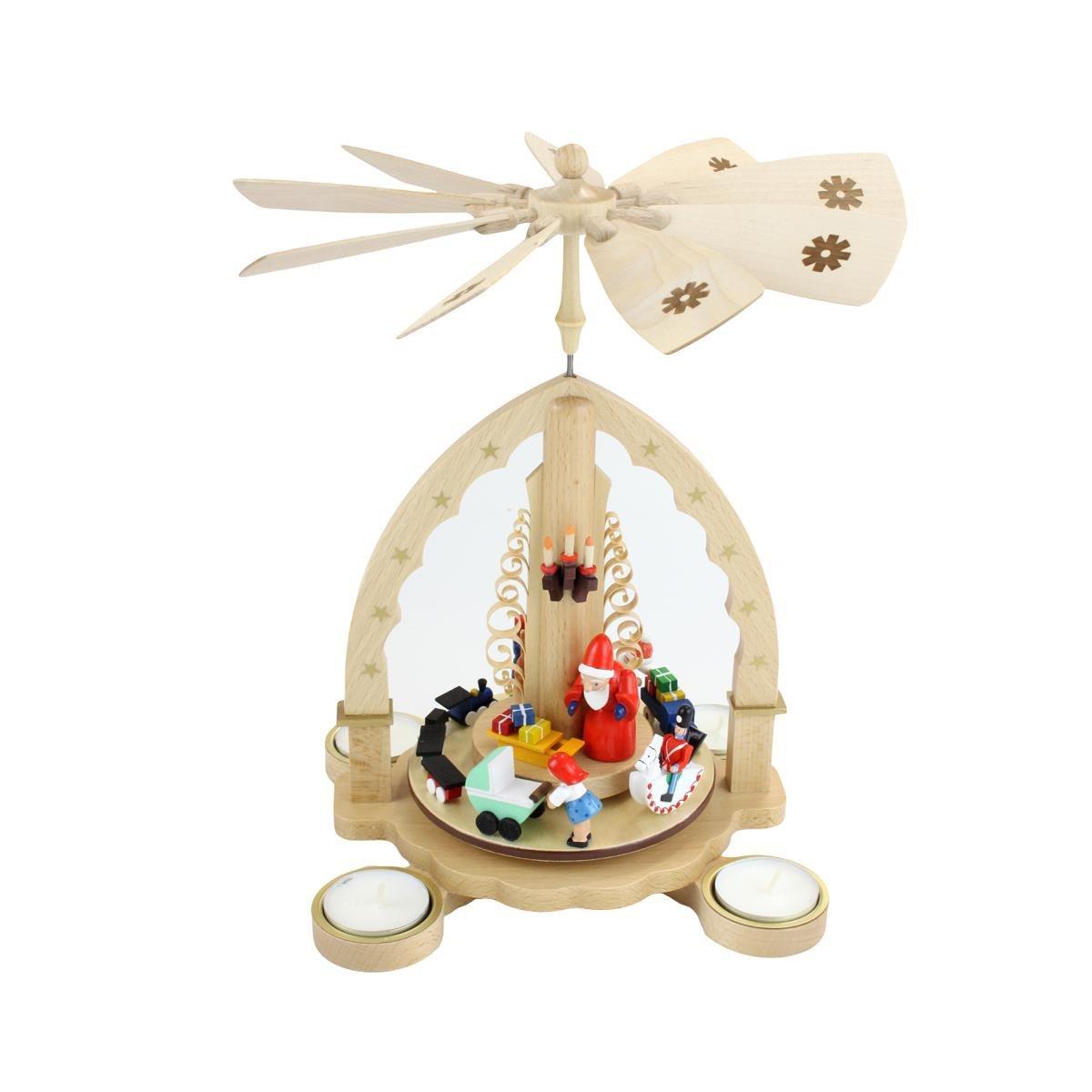 d57d977602678c WeRChristmas Figurine de Père Noël avec Gilet en Tricot Tenue de Ski pour  Femme, 47