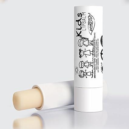 puroBIO – Bálsamo Labios Hidratante para niños – Aroma Azúcar Croché – bálsamos labiales Vegano y