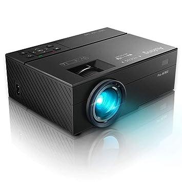 Auking Mini Proyector Portátil Full HD 1080P Soportado, Proyector ...