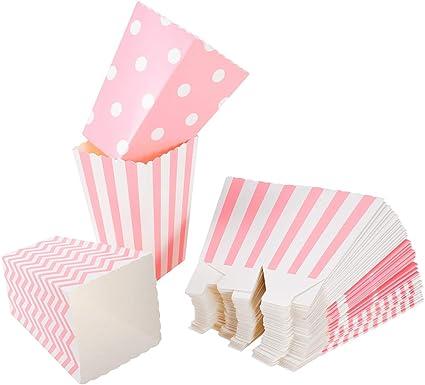 Amazon.com: NUOLUX 48 cajas de cartón para caramelos con ...