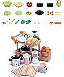 2 Unique Sets - Cooking Theme - Cooking Set and Kitchen Appliances (Japan Import)