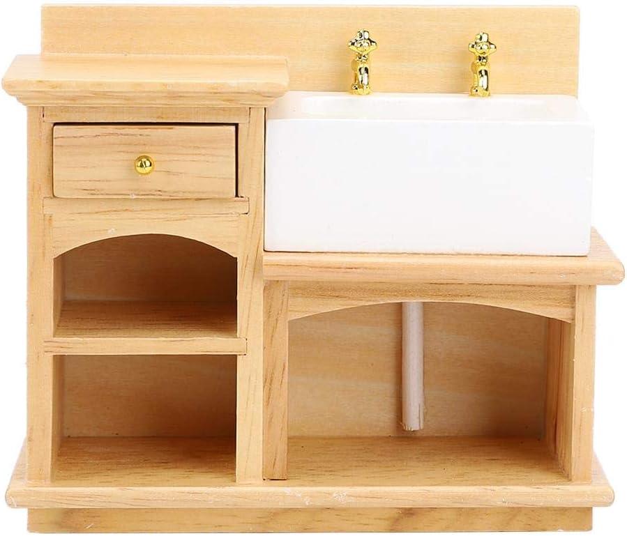 Puppenhaus Miniatur Küche Holz Wandregal 1:12 Puppenhaus Dekor Zubehör *RSDE