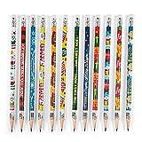 144 Christian Nativity Themed Christmas Lead Pencils