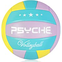 Wisdom Leaves Beach Volleyball Soft Touch Volleyball Balls for Outdoor/Indoor Games Official Size 5