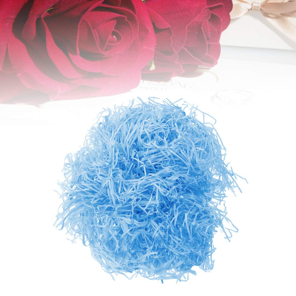 Holibanna Shredded Paper Gift Basket Filler Raffia Paper Crinkle Confetti DIY Gift Wrapping Box Fillings