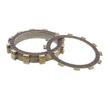 Jili en línea 8 piezas de alto rendimiento disco de fricción Kit reparación Piezas de embrague