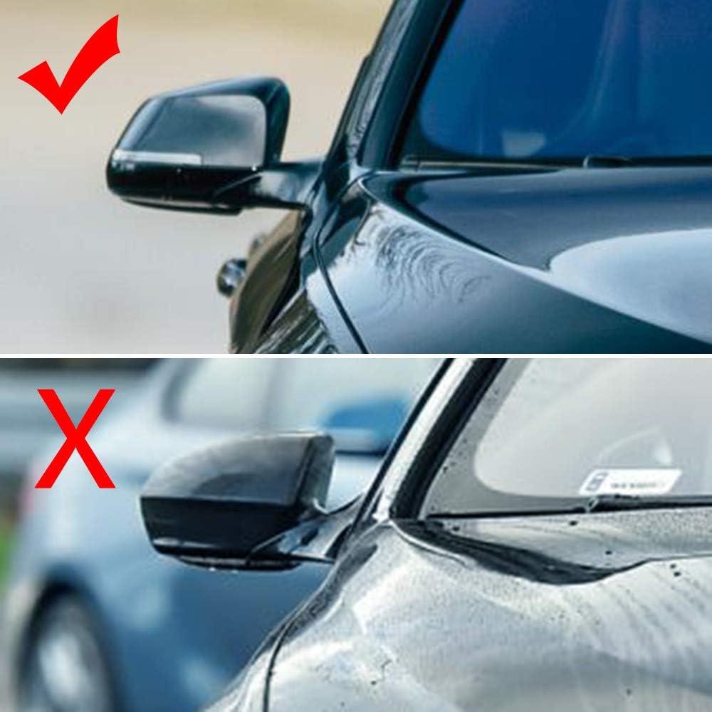 Left/&Right Side Door Rearview Mirror Cover Cap For E46 323i 325i 328i 330i 525i 528i 530i 540i 1998-2005