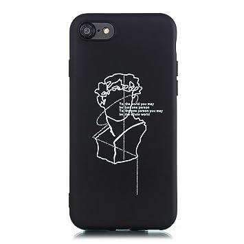 CUAgain Funda Compatible con iPhone 8/iPhone 7 Silicona Dibujos ...