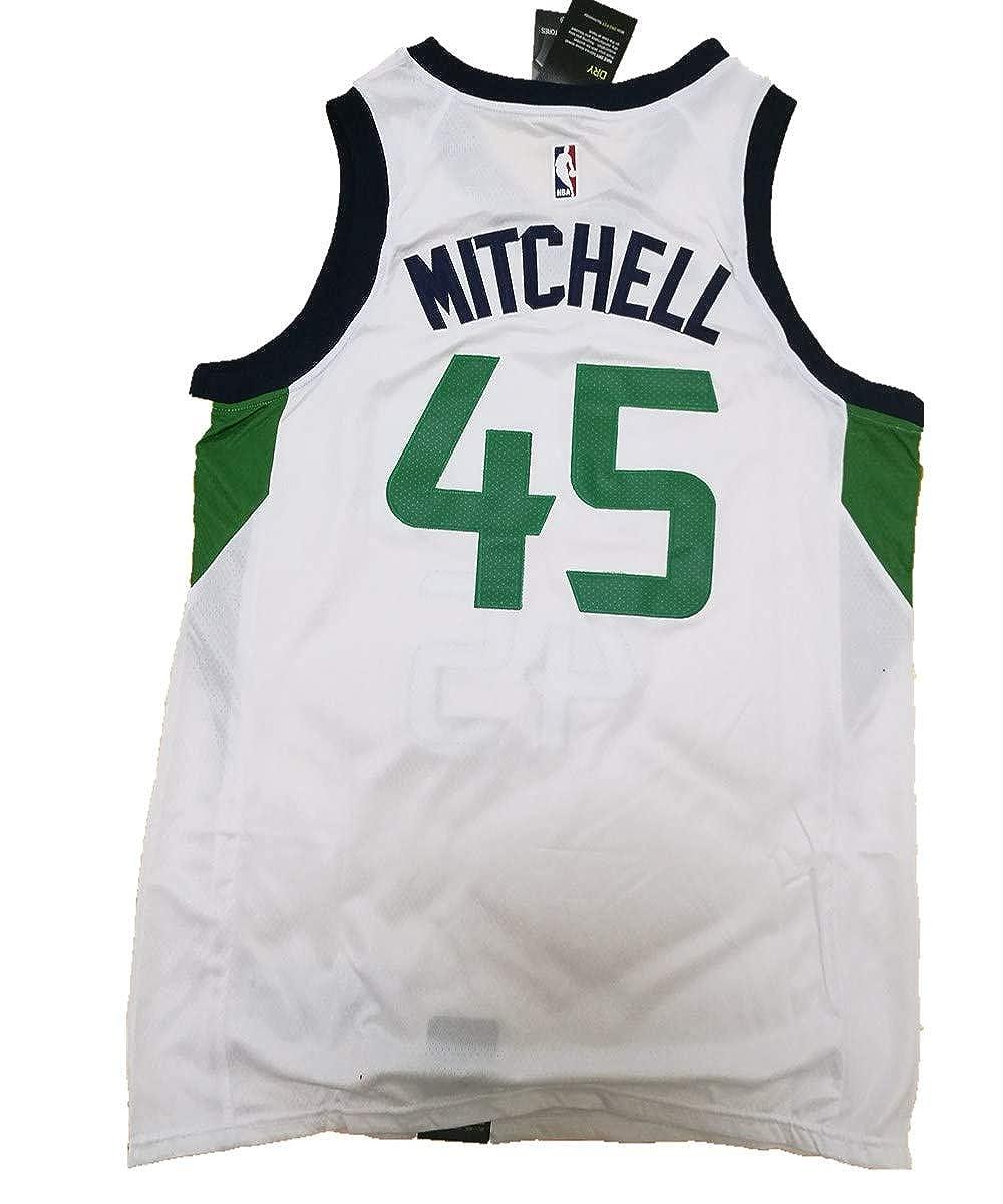 Men's Utah #45 Mitchell Swingman Jersey - Icon Edition
