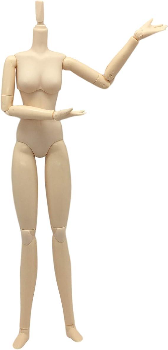 Obitsu 1//6 Bjd Doll Female 27cm Body Normal Hard Bust White Skin 27BD-F01W