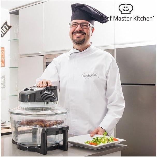 Chef Master Kitchen CMK Horno de convección, 1400 W: Amazon.es: Hogar