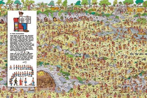 D?nde est? Wally? (Wally) 1000 pieza The Stone Age (la Edad de Piedra) 1000-158 (jap?n importaci?n): Amazon.es: Juguetes y juegos