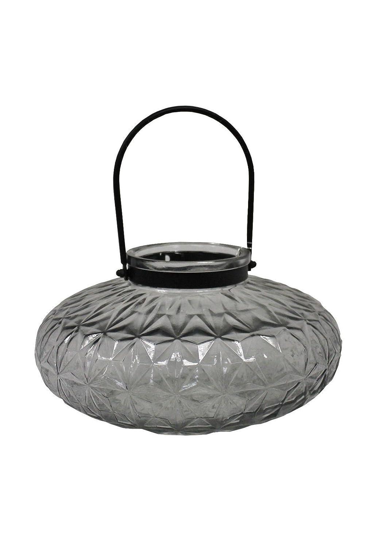 WINDLICHT Joker Rauchgrau Kerzenhalter Windlicht Dekoration Glas Teelicht
