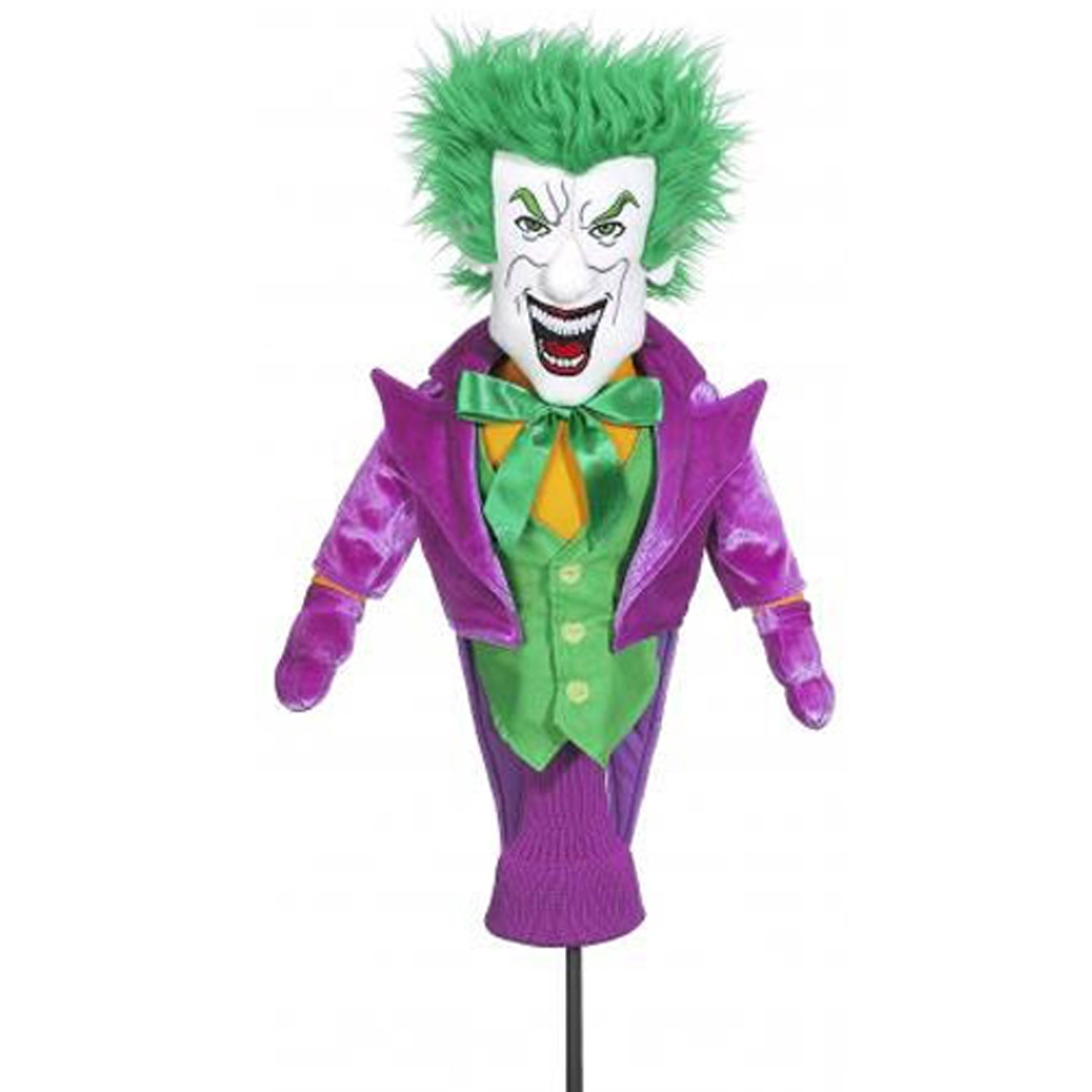 Licensed Batman the Dark Knight & Villain Golf Head Cover Complete Collector Set (Joker, Penguin, Riddler, & Batman)