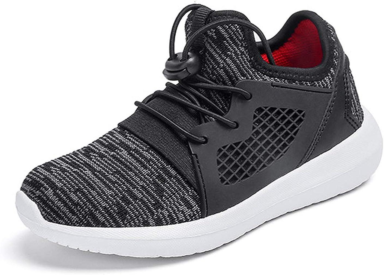 KVbaby Kids Sneakers Boys Running Shoes Girls Lightweight Sport Sneakers Breathable Walking Athletic Shoes Black 3 M US Little Kid
