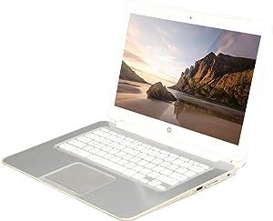 "2018 HP 14 Premium Flagship Chromebook (14"" HD SVA anti-glare 1366 x 768~Intel Celeron Dual-core Processor 2955U (1.40 GHz)~4GB RAM~16GB SSD~Wifi~NO-DVD Drive~Chrome OS) (Renewed)"