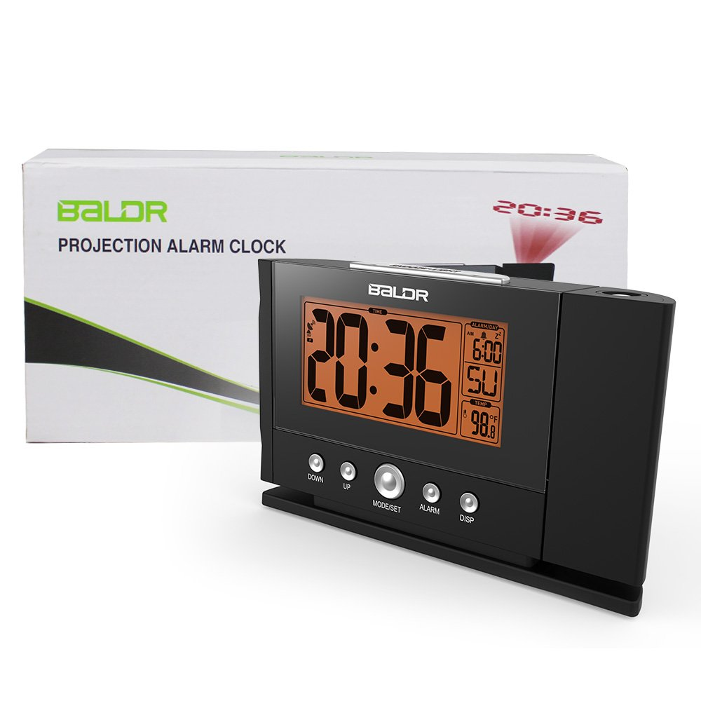 Amazoncom BALDR Digital Projection Alarm Clock Dimmable