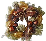 30″ Christmas Decor Mesh Wreath Review