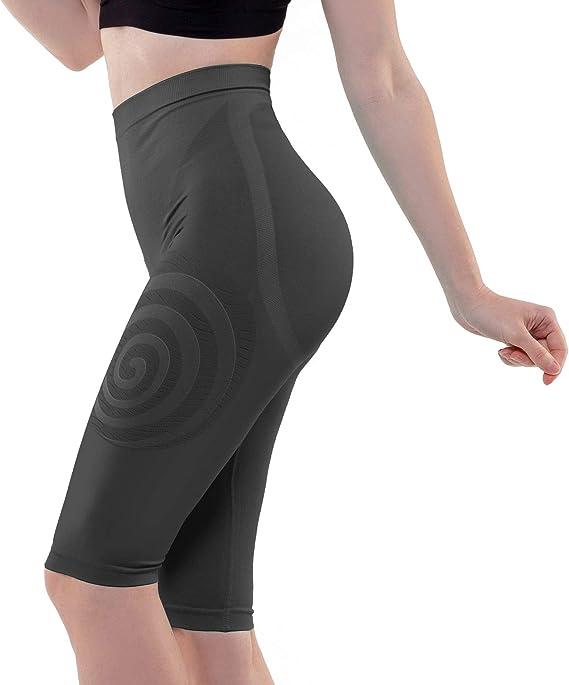 Technologie Fran/çaise Cosm/éto C/éramic Action Minceur Gainant et Amincissant Effet Push Up LIPO ACTIF Legging Taille Haute Ventre Plat Jour//Nuit