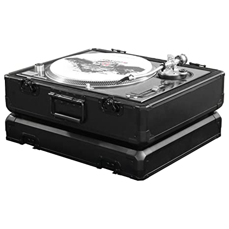 Odyssey: funda para tocadiscos de la serie Black KROM (K1200BL ...