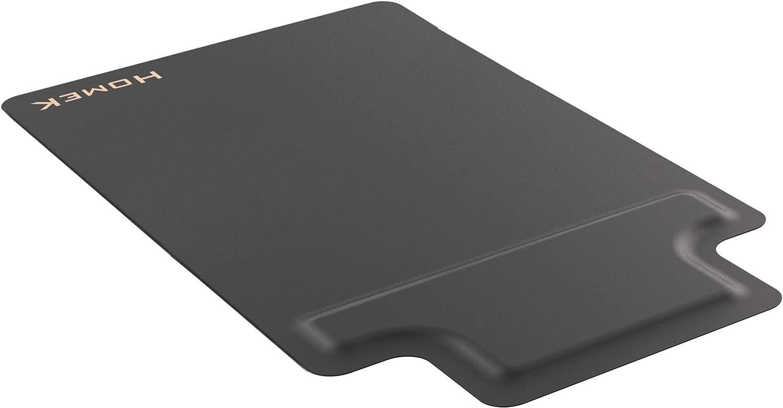 Homek Office Chair Mat for Hardwood Floor with Footrest - Standing Desk Anti Fatigue Mat