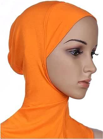 DressUWomen Modal musulmán multicolor cómodo velo islámico para Mujers