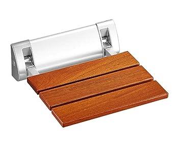 Mur salle de bain tabouret salle de bain bois massif siège pliant ...