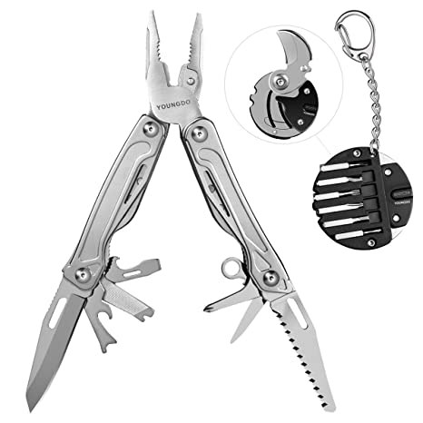 Model Building Kits Clos Outdoor Multitool Pliers Serrated Knife Jaw Hand Tools Screwdriver Pliers Knife Multitool Knife Set Survival Gear With Bag Fine Quality