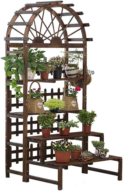 Balcón Suculento Estante De Exhibición Paso De Flores De Múltiples ...
