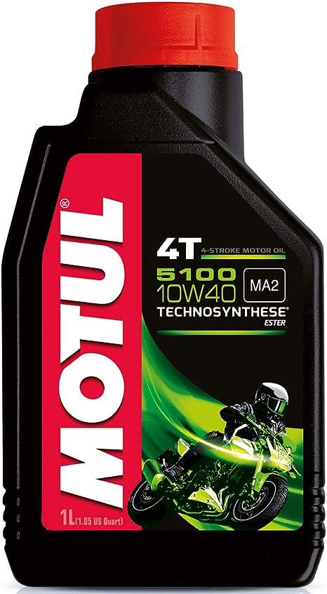 Motul Engine Oil 5100 10w40 4t 1l Auto